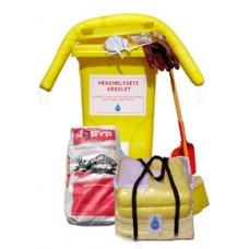 Kémiai (vegyi) havária (kármentő) készlet (PRAKTIK C) Havária (vészhelyzeti) készlet