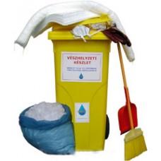 Hidrofób (olajszelektív) havária (kármentő) készlet (PRAKTIK O) Havária (vészhelyzeti) készlet